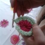 changing colour crochet