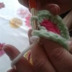 slip stitch changing colour